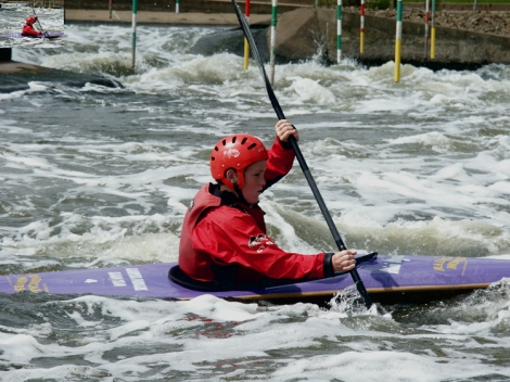 picture of Kayak on the Teifi, Llandysul Paddlers