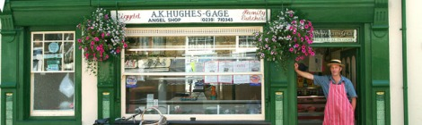 picture of Newcastle Emlyn shop front