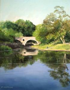 Cenarth Bridge by Diane Mathias