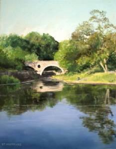 Cenarth Bridge by Diane Mathias