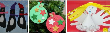 Xmas Mums and Tots art