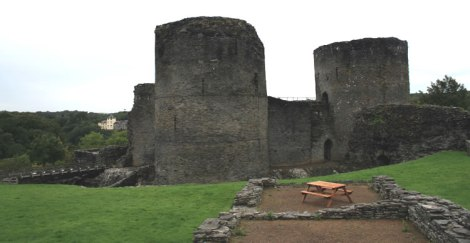 Photograph of Cilgerran Castle, Pembrokeshire